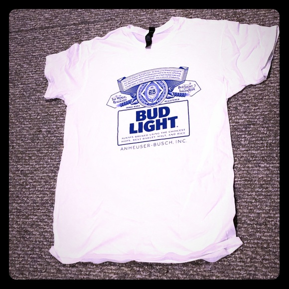 Other - Bud light t shirt (new)